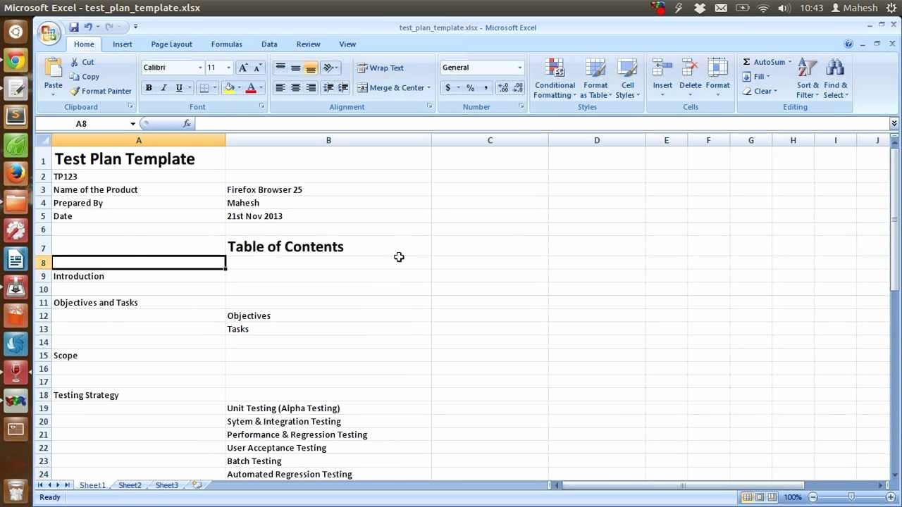 Sample Test Plan Template Awesome Ieee Sample Test Plan Template