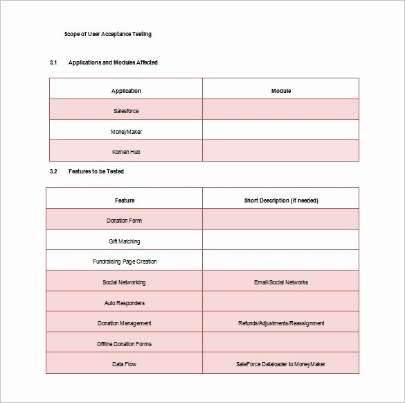 Sample Test Plan Template Best Of 15 Test Plan Templates Pdf Doc