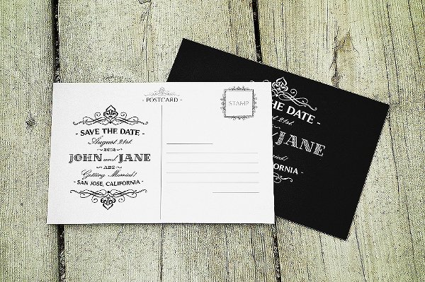 Save the Date Postcard Template Best Of Postcard Template 18 Free Psd Vector Eps Ai format