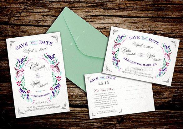 Save the Date Postcard Template Elegant Save the Date Postcard Template – 25 Free Psd Vector Eps
