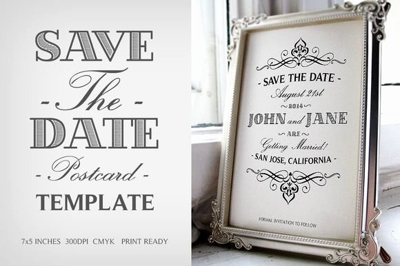 Save the Date Postcard Template Inspirational 17 Best Images About Wedding Invitations On Pinterest