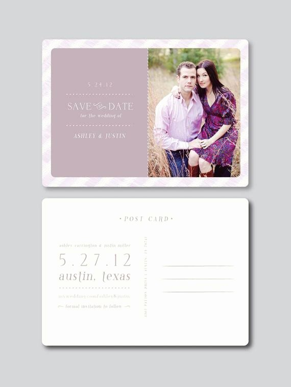 Save the Date Postcard Template Inspirational Items Similar to Sale Save the Date Card Design