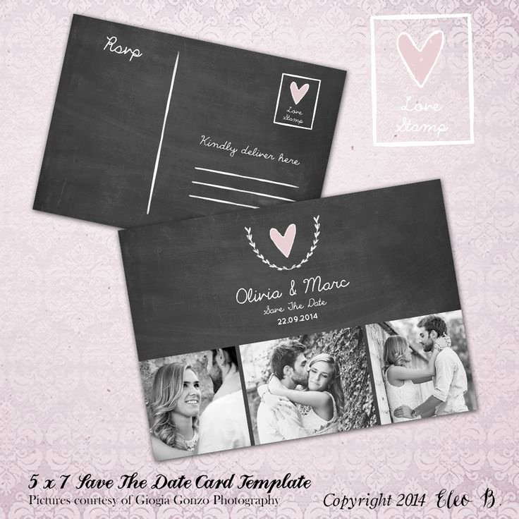 Save the Date Postcard Template Lovely Save the Date Postcard Save the Date Template Wedding