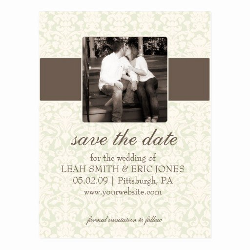 Save the Date Postcard Template Lovely Save the Date Templates