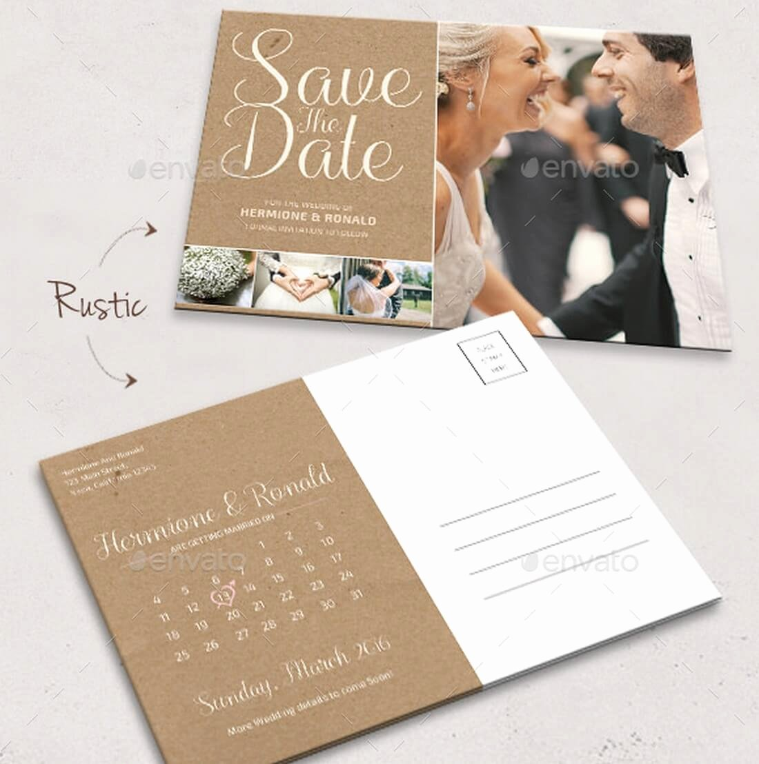 Save the Date Postcard Template New 15 Gorgeous Save the Date Templates