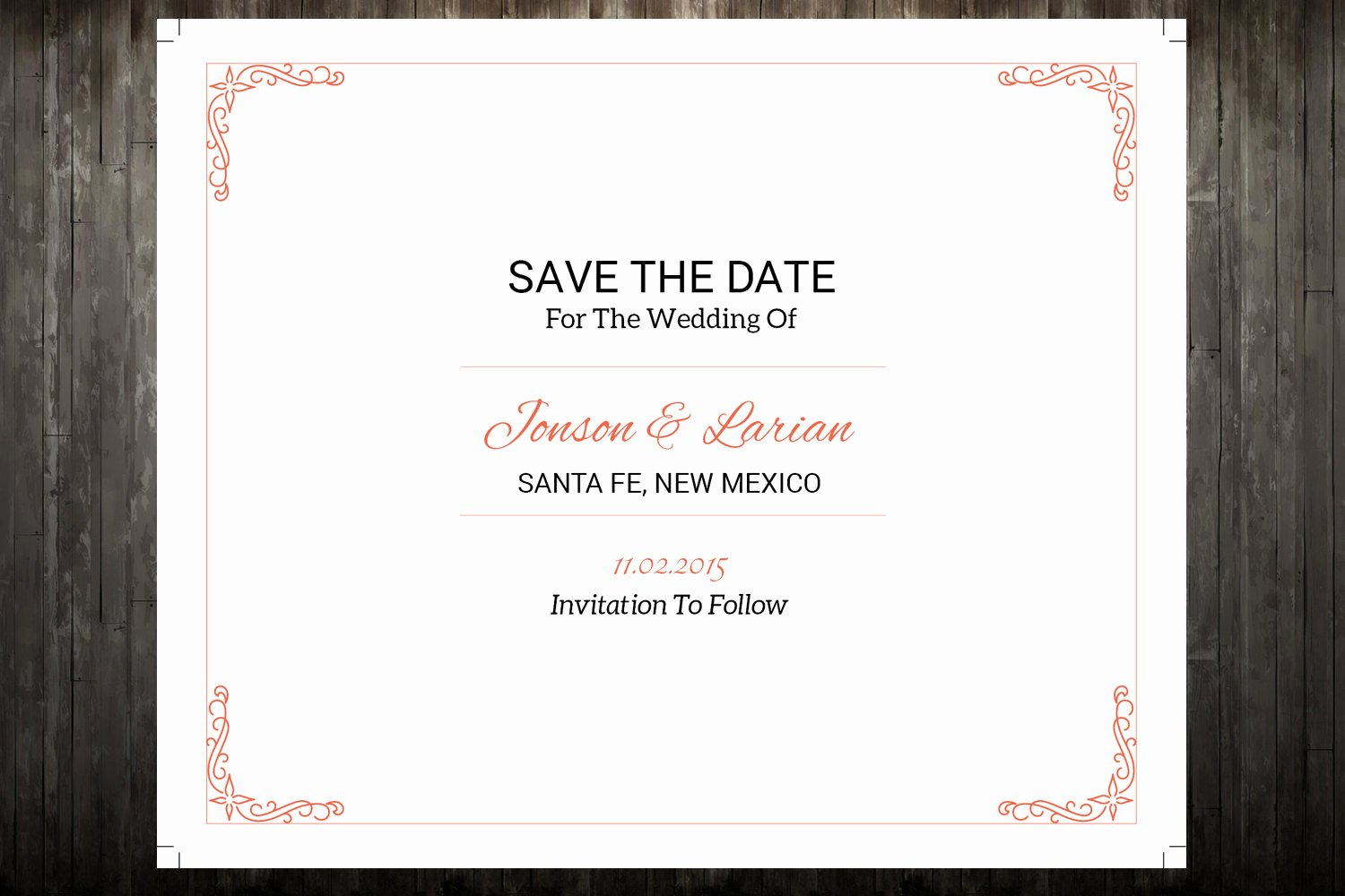 Save the Date Postcard Template New Sale Save the Date Template Wedding Save the Date Postcard