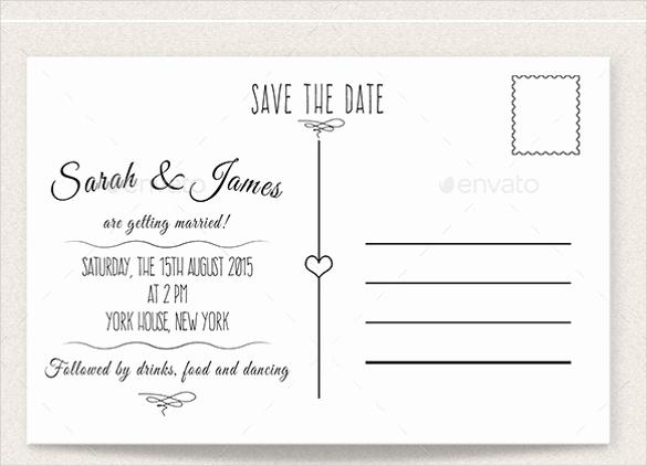 Save the Date Postcard Template Unique 22 Save the Date Postcard Templates – Free Sample