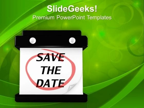 Save the Date Powerpoint Template Awesome Best Sample Save the Date Calendar Template