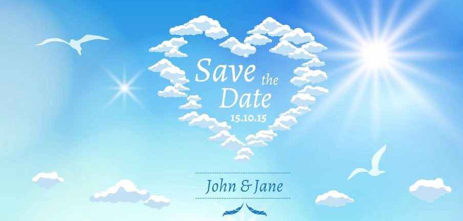 Save the Date Powerpoint Template Awesome Save the Date Presentation Template
