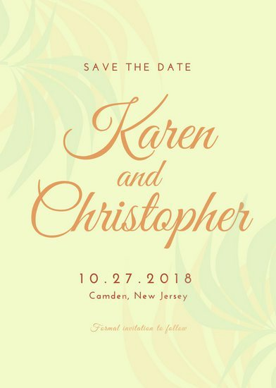 Save the Date Powerpoint Template New Customize 4 982 Save the Date Invitation Templates Online