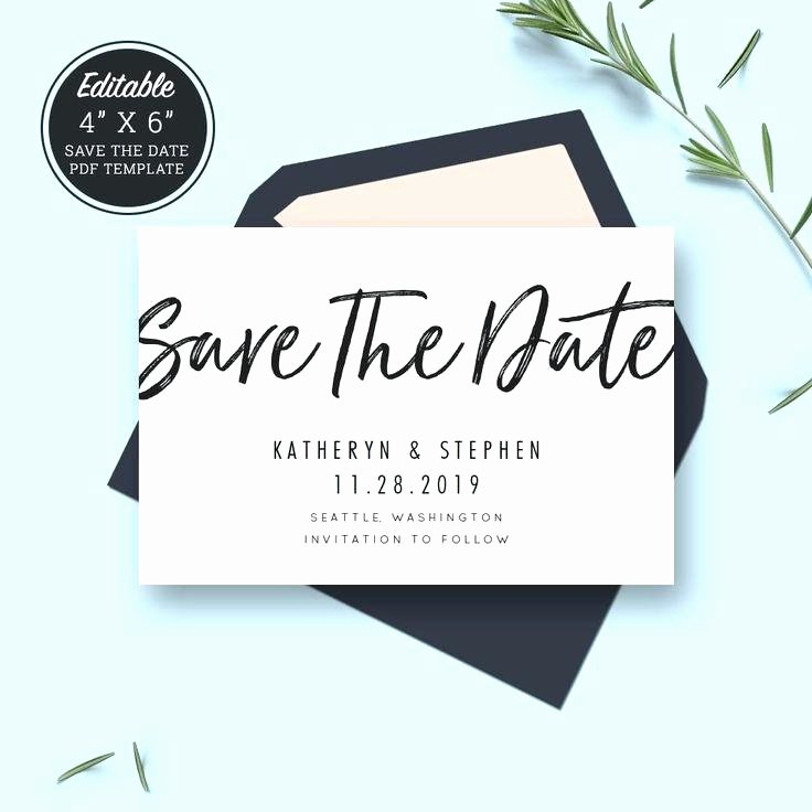 Save the Date Powerpoint Template New Free Editable Baby Shower Invitation Templates Elegant