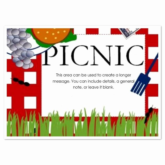 Save the Date Powerpoint Template Unique Free Printable Picnic Invitations Templates