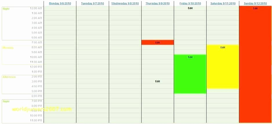 Schedule Of Availability Template Awesome Work Availability Sheet Schedule Template – Jewishhistoryfo