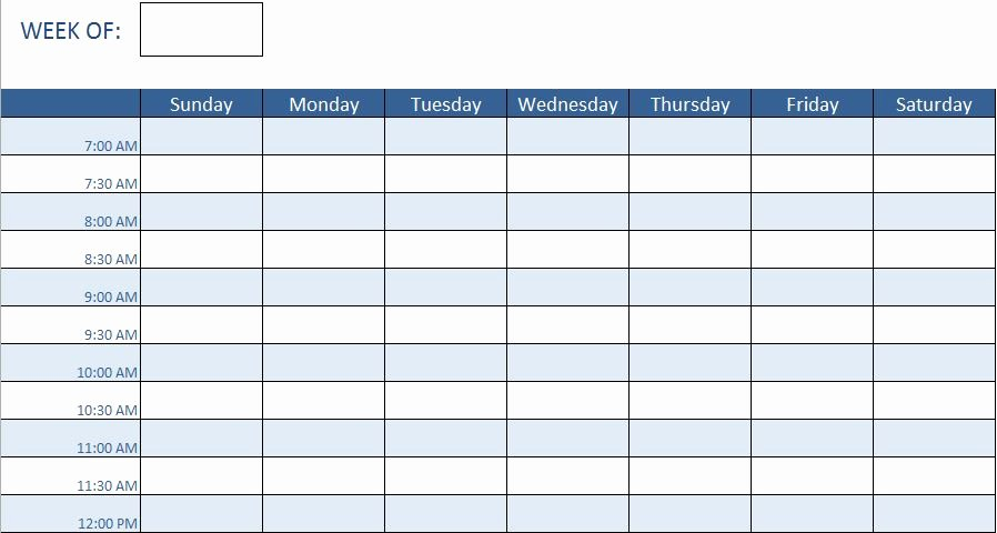 Schedule Of Availability Template Best Of Free Human Resources Templates In Excel