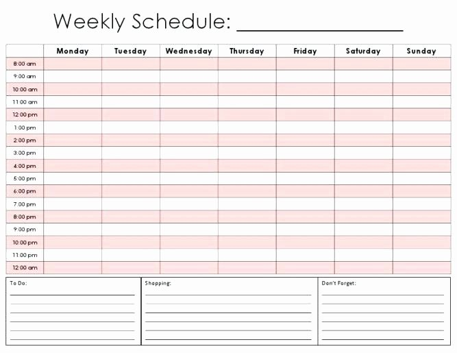 Schedule Of Availability Template Best Of Shift Availability form Employee Schedule Template