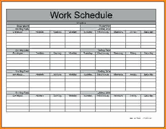 Schedule Of Availability Template Best Of Work Availability form Template Availability for Work