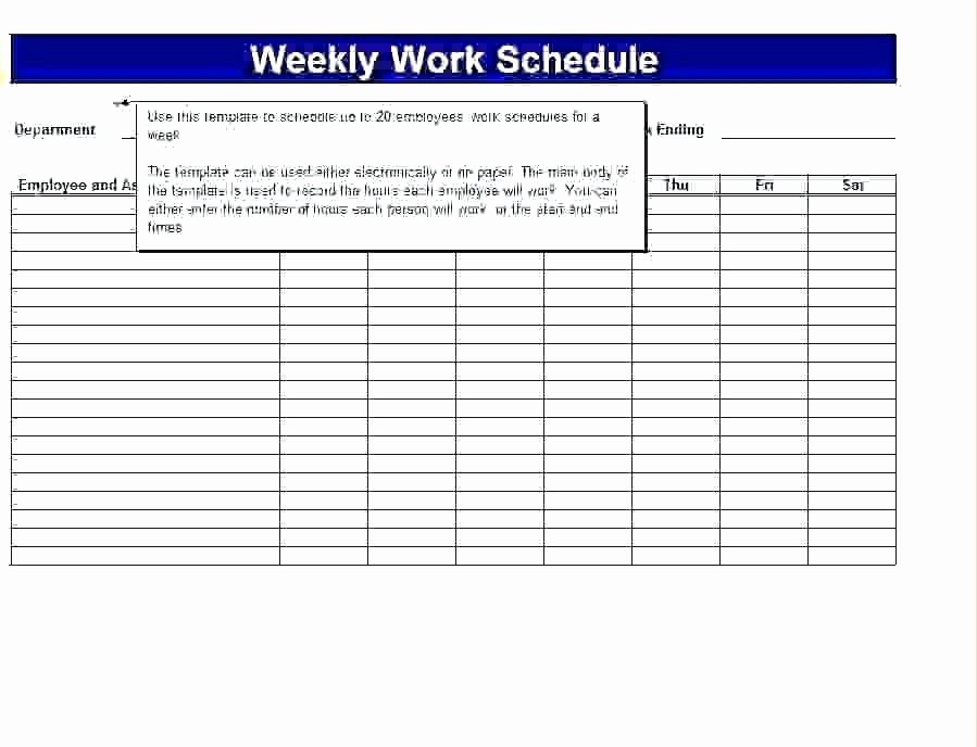 Schedule Of Availability Template Unique Availability Schedule Template – Freewarearenafo