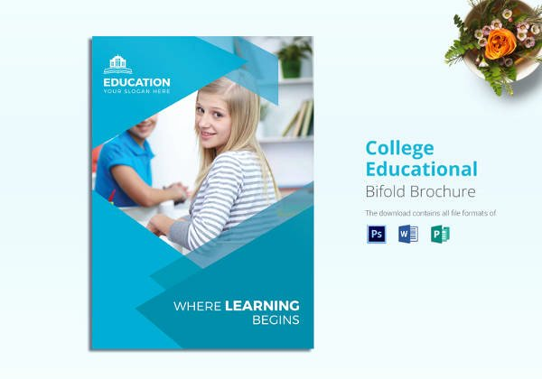 School Brochure Template Free Awesome Education Brochure Template 25 Free Psd Eps Indesign