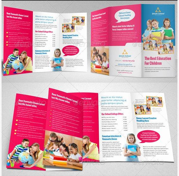 School Brochure Template Free Best Of College Brochure Template 45 Free Jpg Psd Indesign