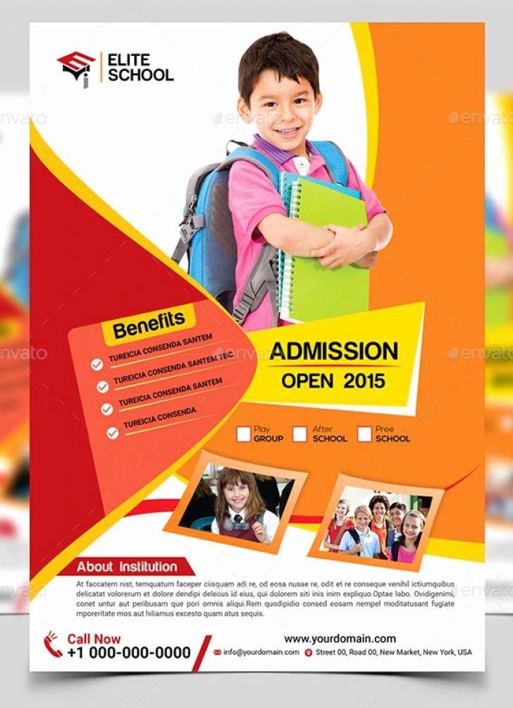 School Brochure Template Free Best Of School Brochure Design Templates Reeviewer