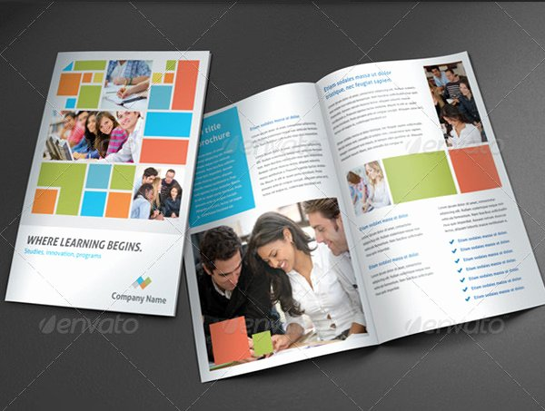 School Brochure Template Free Inspirational College Brochure Template 45 Free Jpg Psd Indesign
