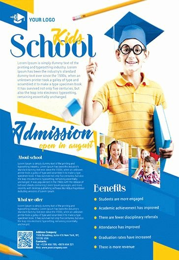 School Brochure Template Free Inspirational School – Free Psd Tri Fold Psd Brochure Template – by