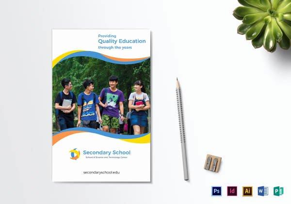 School Brochure Template Free Luxury 24 Useful School Brochure Templates