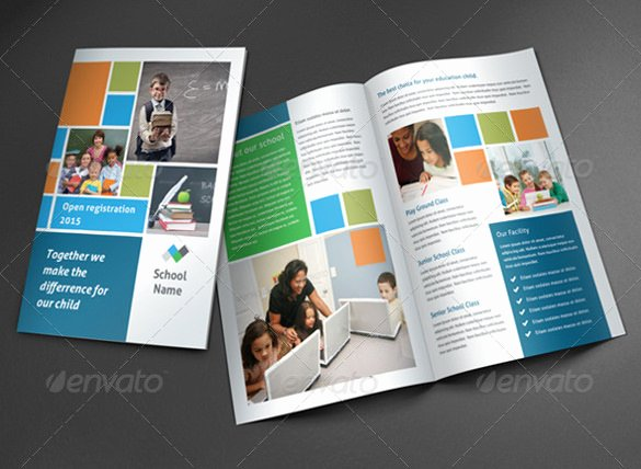 School Brochure Template Free Luxury 24 Useful School Brochure Templates
