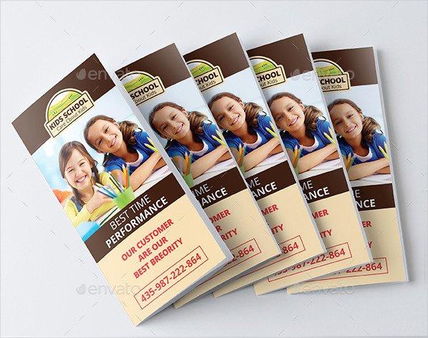 School Brochure Template Free Luxury 25 School Brochure Templates Free & Premium Download