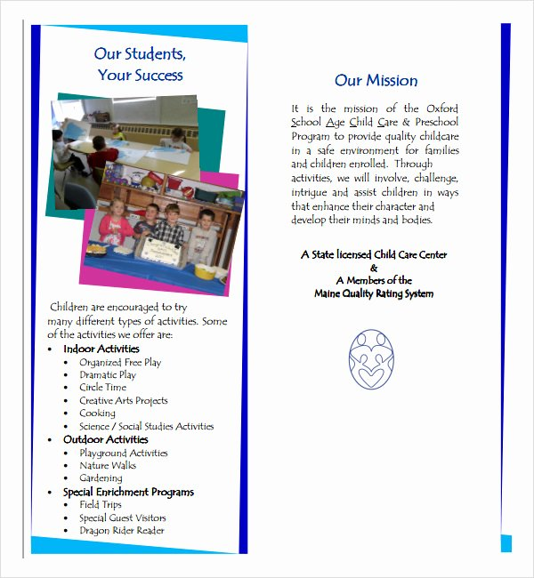 School Brochure Template Free Luxury School Brochure 22 Download In Psd Vector Pdf
