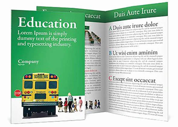 School Brochure Template Free New 40 Print Ready Brochure Templates