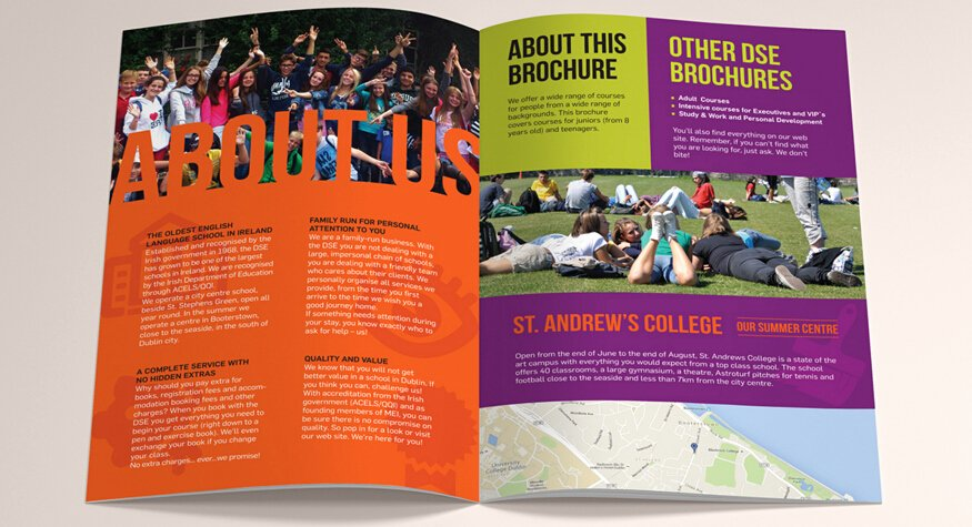 School Brochure Template Free Unique 10 Awesome School Brochure Templates & Designs
