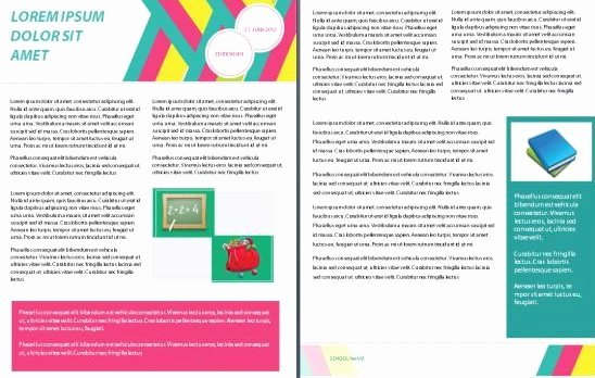 School Newsletter Template Free Best Of 15 Free Microsoft Word Newsletter Templates for Teachers