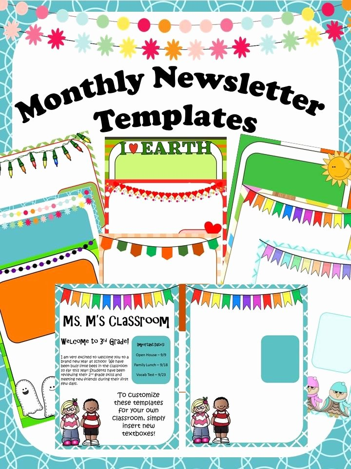 School Newsletter Template Free Elegant Using Newsletters In Your Classroom Has Never Been Easier