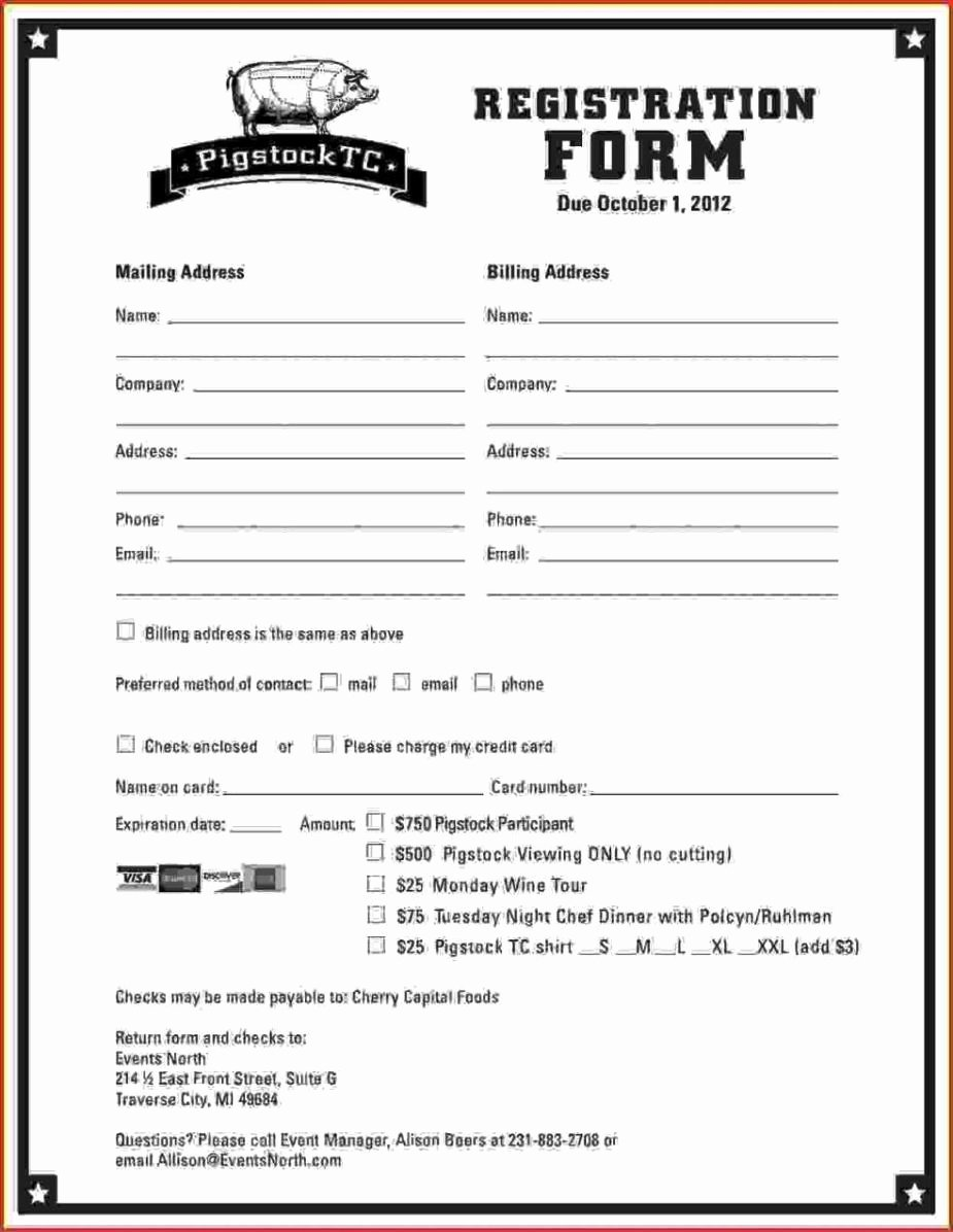School Registration form Template Awesome Dance School Registration form Template Free
