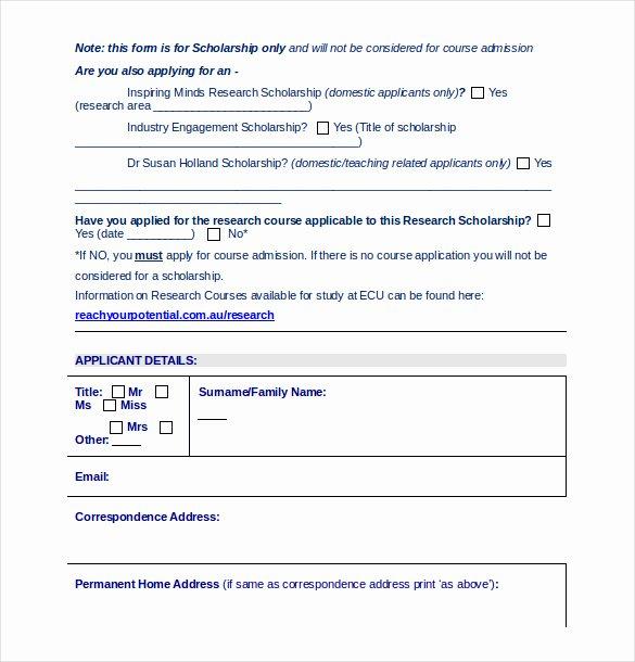 School Registration form Template Elegant School Register form Template