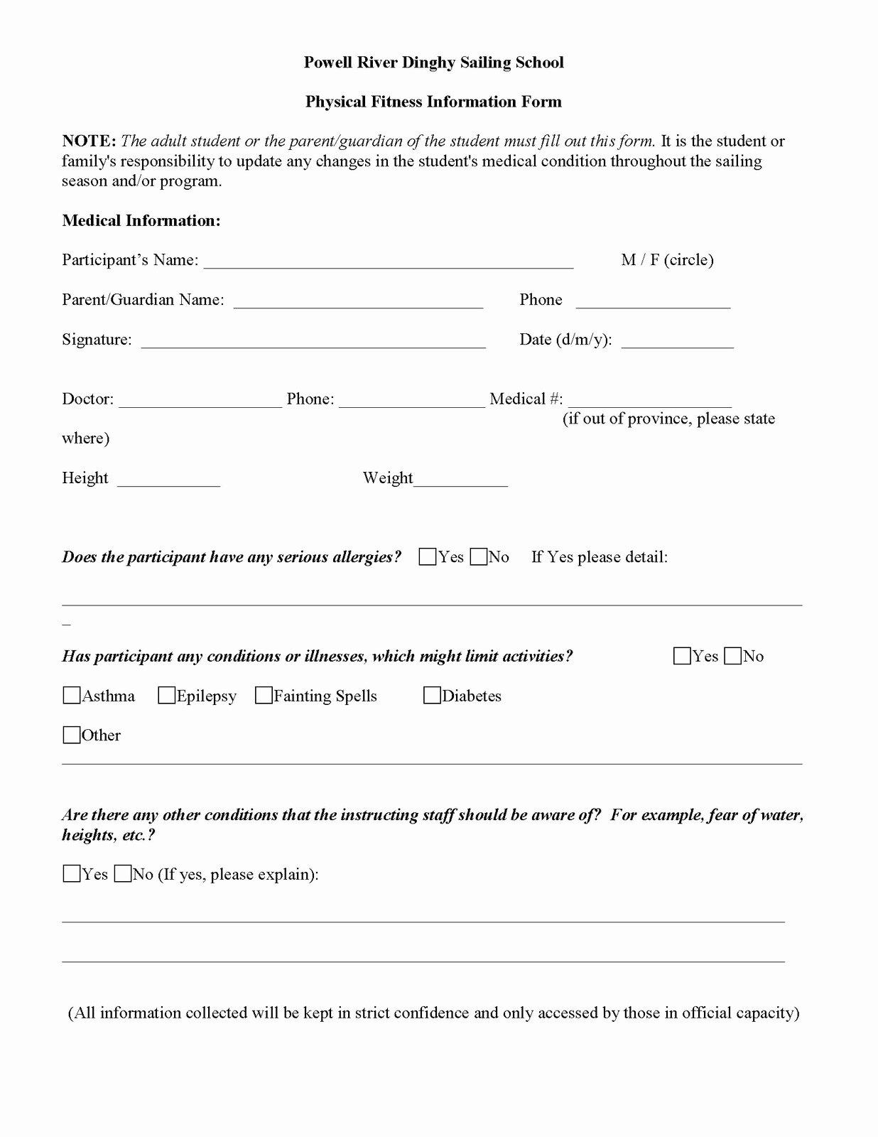 School Registration form Template Inspirational Calendar 2011 Page 2