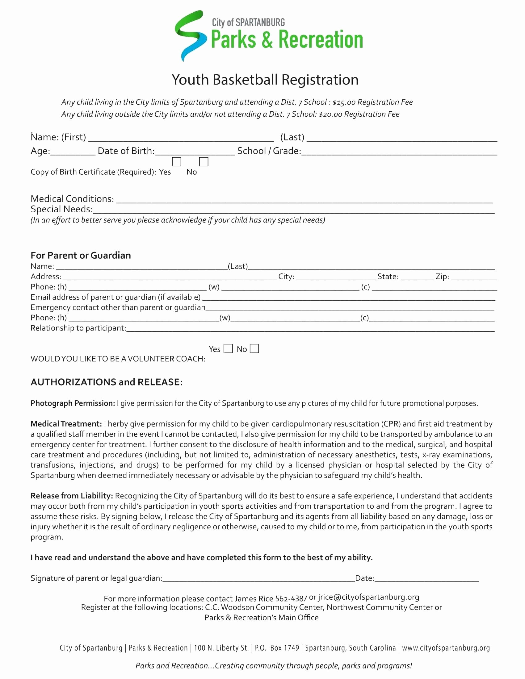 School Registration form Template Luxury School Registration form Template Word
