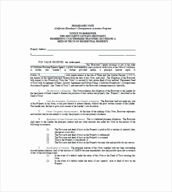 Secured Promissory Note Template Pdf Awesome Secured Promissory Note Template Luxe Secured Promissory