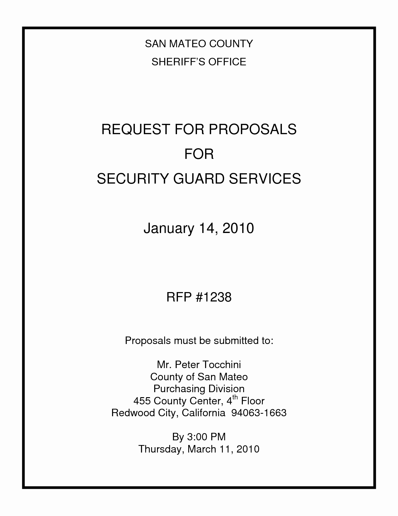 Security Guard Contract Template Best Of 10 Best Of Simple Security Guard Services Sample