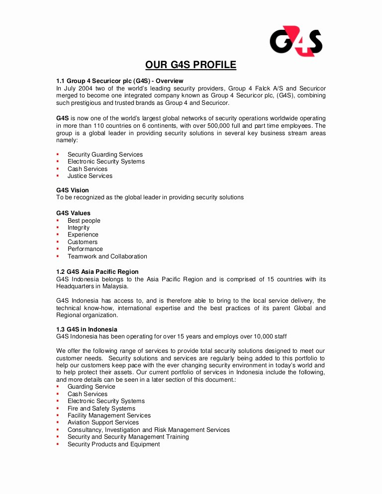 Security Guard Contract Template Best Of G4s Security Services Pany Profile G4s