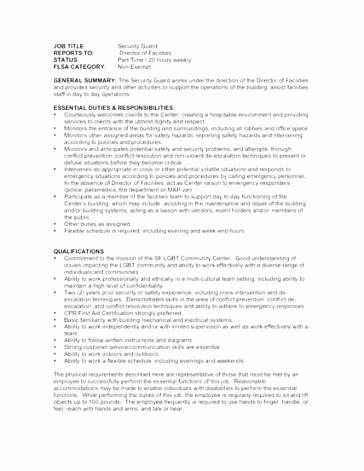 Security Guard Contract Template Best Of Private Security Contract Template Private Private
