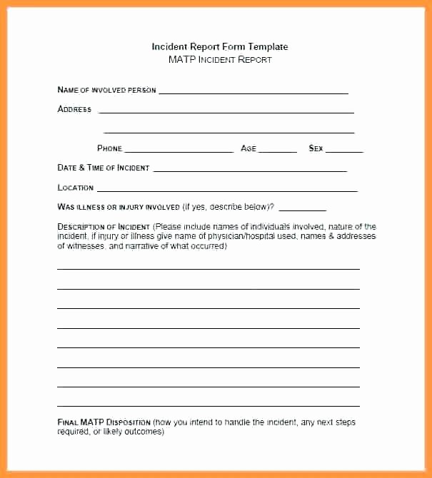 Security Guard Incident Report Template Best Of Security Ficer Incident Report Template It Word Guard T