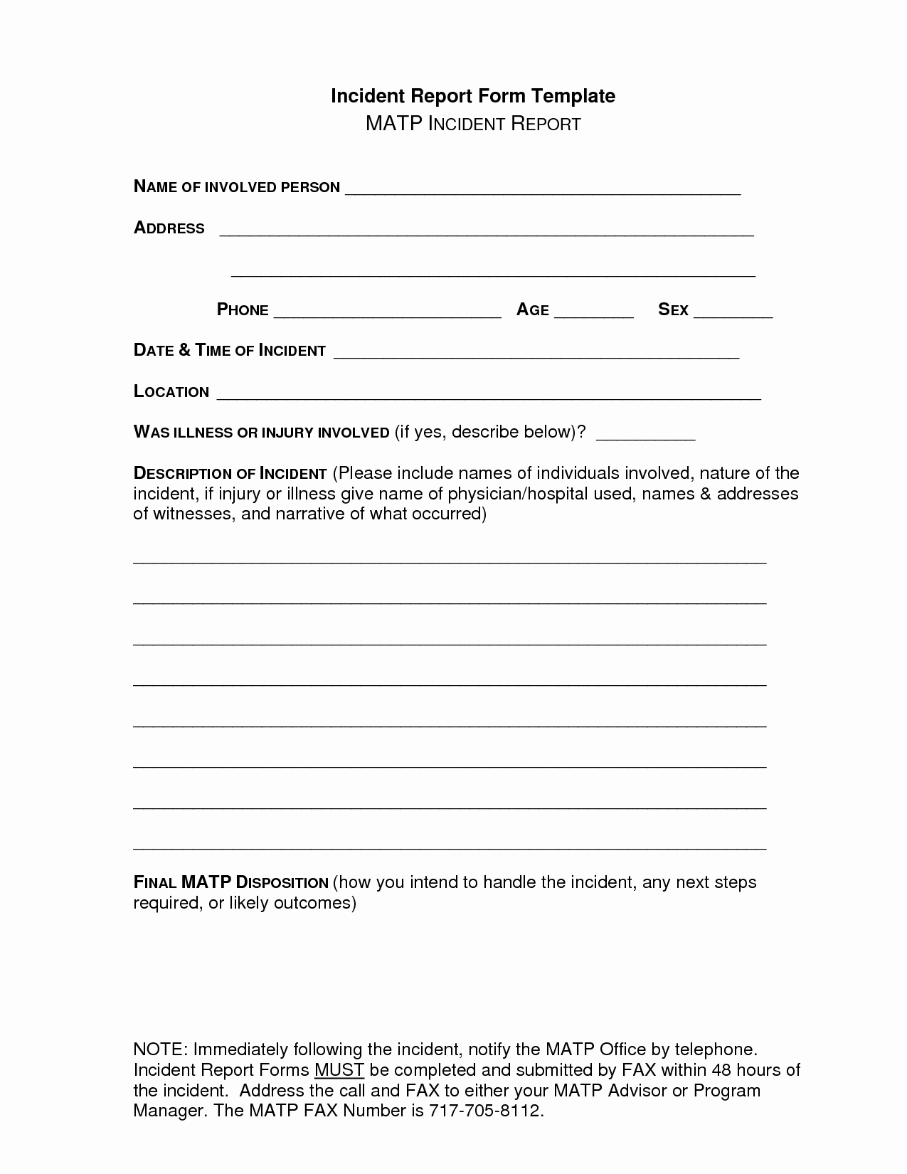 Security Incident Report Template Word Awesome School Incident Report Template Word 2017