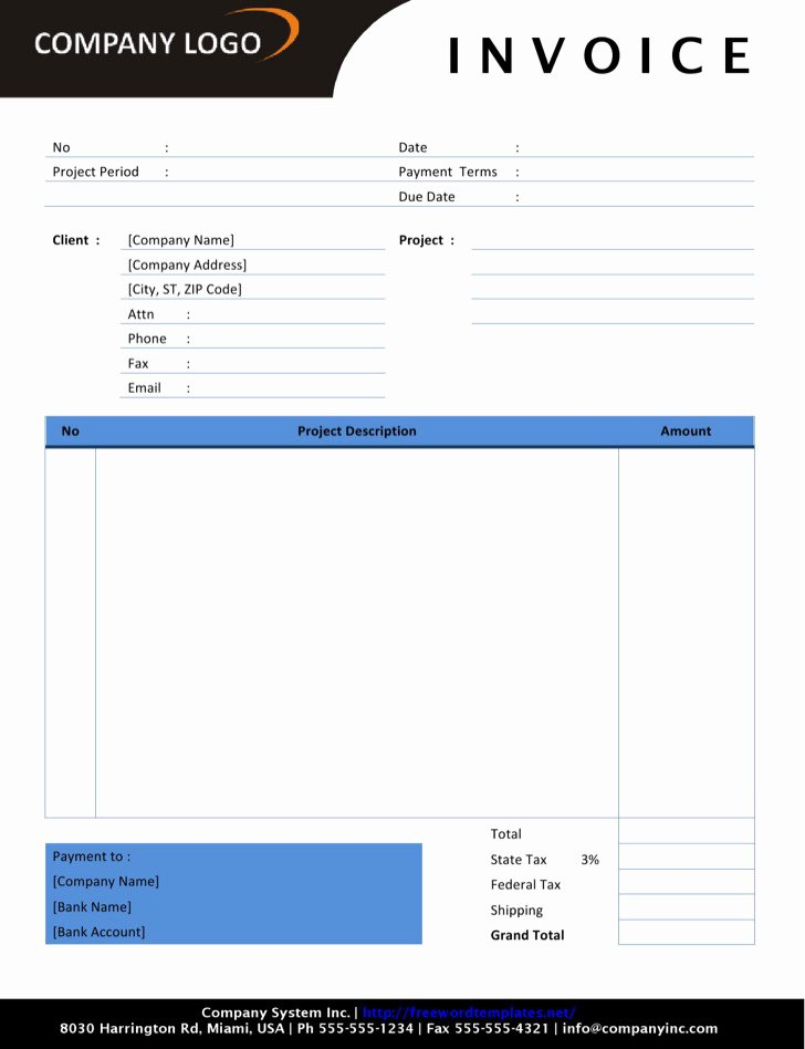 Self Employed Invoice Template Awesome Download Self Employed Invoice Templates for Free