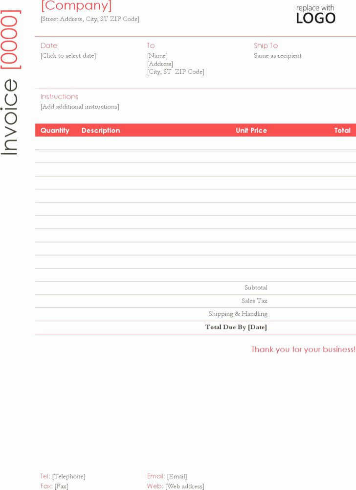 Self Employed Invoice Template Beautiful Download Self Employed Invoice Templates for Free