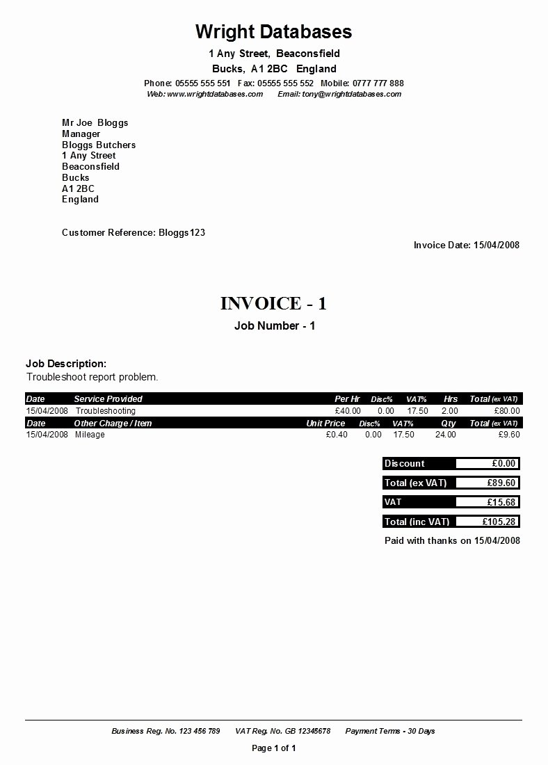 Self Employed Invoice Template Beautiful Ficial Invoice Template Invoice Template Ideas