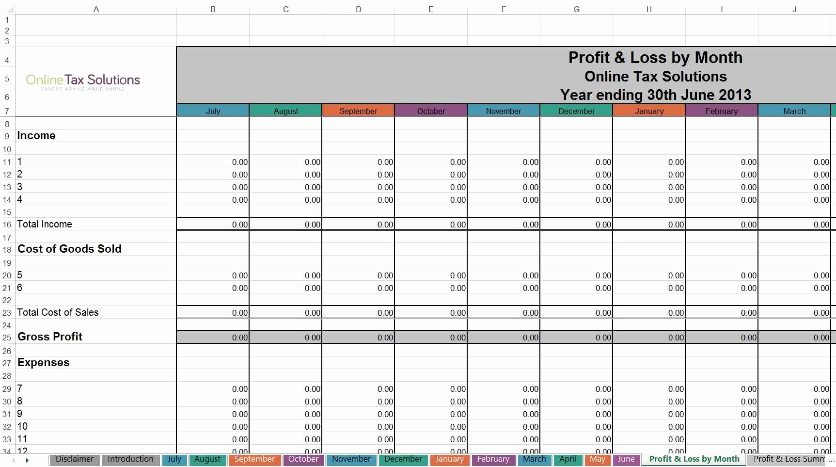Self Employment Income Statement Template Beautiful Self Employed Spreadsheet Templates