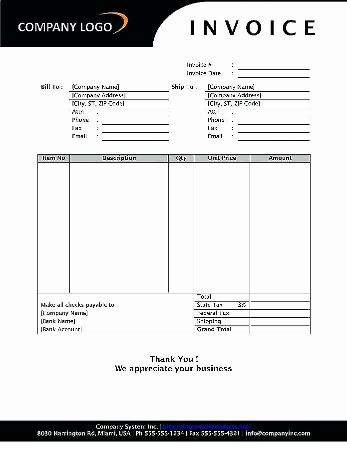 Self Employment Invoice Template Awesome Self Employed Invoice Template Free In for Business New to