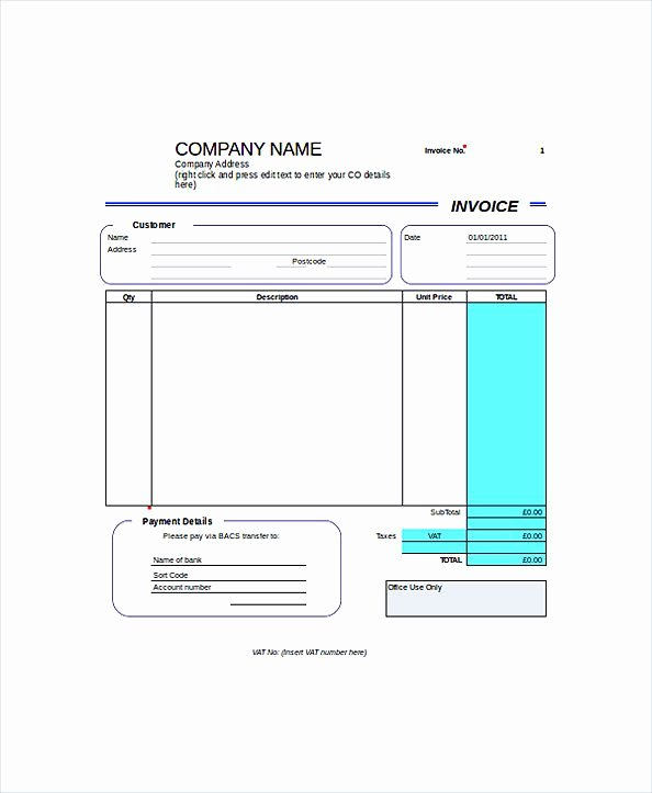 Self Employment Invoice Template New Self Employment Invoice Template Rusinfobiz
